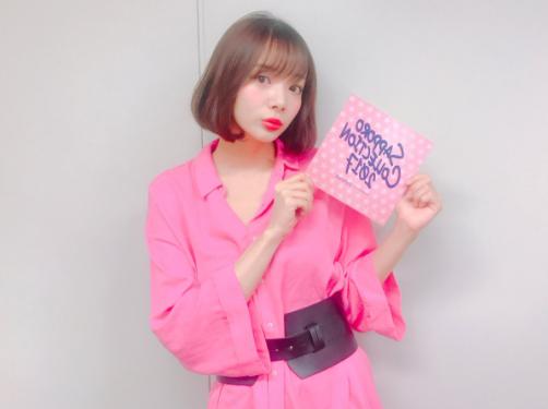 洋服が素敵な岡田紗佳さん